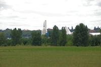 La Cite de l'Espace depuis l'aerodrome de Toulouse - Lasbordes