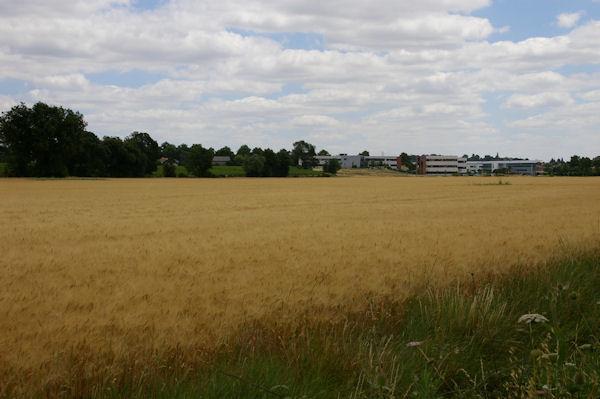 La Zone d_Activités de Ribaute depuis l_aérodrome de Toulouse - Lasbordes
