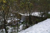 Un petit barrage sur la Pique