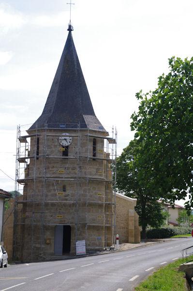 L_église de Sarremezan