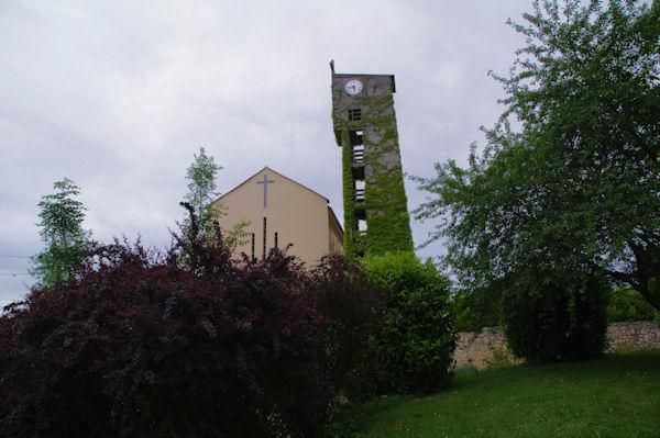 L_église de Lespugue