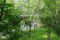 Le pont de la D9 sur la Save