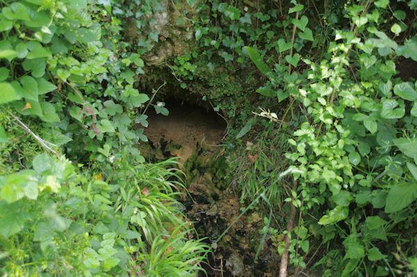 La source du ruisseau souterrain de Lespugue