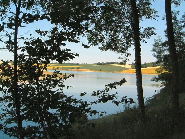 Lac du Laragou, rive nord