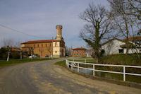L'eglise de Lautignac