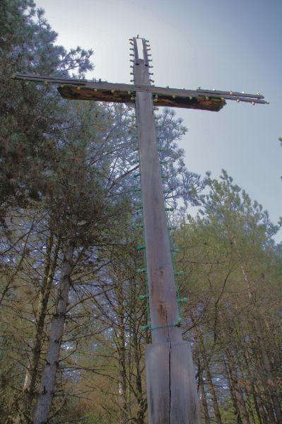 Une croix qui doit être visible depuis Montréjeau ou Labarthe Rivière