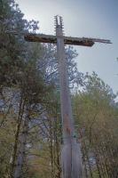Une croix qui doit etre visible depuis Montrejeau ou Labarthe Riviere