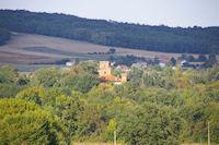 Le chateau de Bonrepos sur Aussonnelle