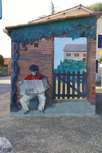 Il y a un peintre de génie à Bonrepos sur Aussonnelle!