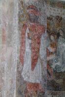 Fresques dans l'Eglise de Benque Dessus