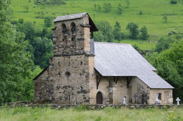 L_Eglise de Benqué Dessus