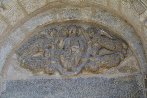 Le ponton de l_Eglise de St Aventin