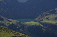 Vue du lac de Bareilles ou de Borderes