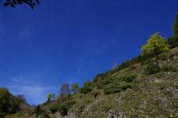 Montee vers le vallon de Colantique