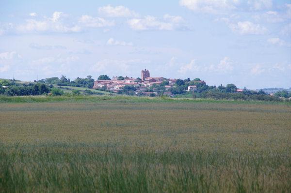 Montesquieu Lauragais depuis Le Pinié