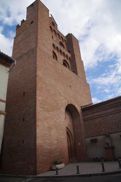 L_église de Montesquieu Lauragais