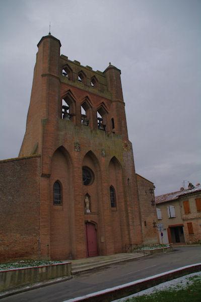 L_église de Montgiscard
