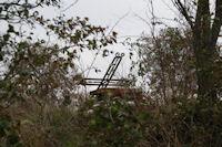 Un cimetiere abandonne au dessus de La Bofe