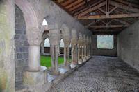 Le cloitre de la cathédrale St Bertrand de Comminges