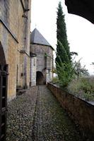Les arrières de la cathédrale St Bertrand de Comminges