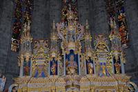 L_autel de la cathédrale de St Bertrand de Comminges