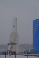 Ariane 5 by snow