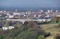 Le Stadium et le Stade Ernest Wallon dans le meme alignement!