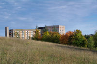 L_Hopital Larrey au couleurs d_automne