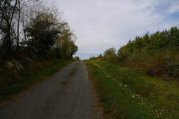 Le GR86 près de La Rédau