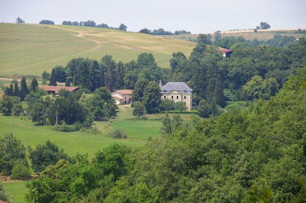 Le château de l_Oustaou