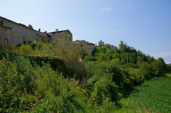 En remontant vers Aurignac depuis le vallon du ruisseau de la Bourdette