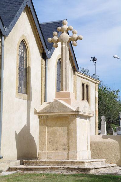 Une croix originale à Ciadoux