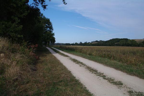 Le GR86 en bordure du Lanot dans la vallée de la Nère
