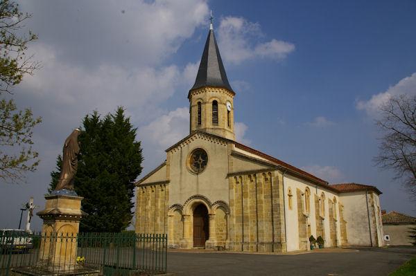 L_église de Fabas