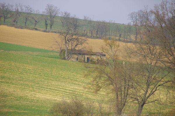 Un maison en ruine à La Clote