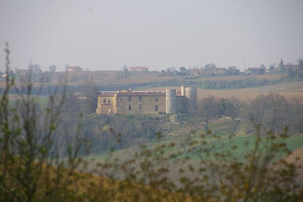 Le château de Labastide Paumès en cours de restauration