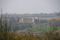 Le chateau de Labastide Paumes en cours de restauration
