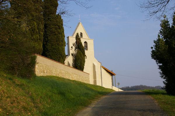 L_église de Polastron
