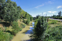 L'Hers depuis le Pont de Balma