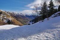 La vallee d'Oueil depuis le Bois d'Echere