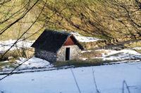 Ancien moulin sur la Neste d'Oueil