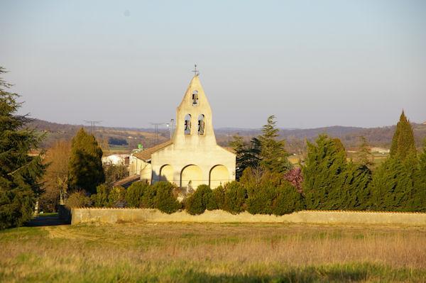 L_église de Pouy de Touges