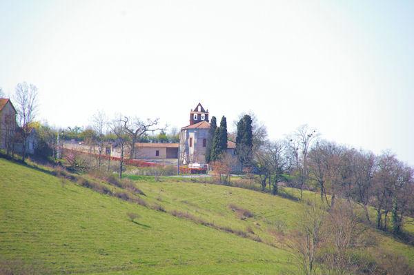 L_église de Casties Labrande