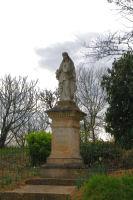 Une statue a Sarremezan