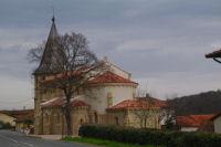 L'eglise de Sarremezan