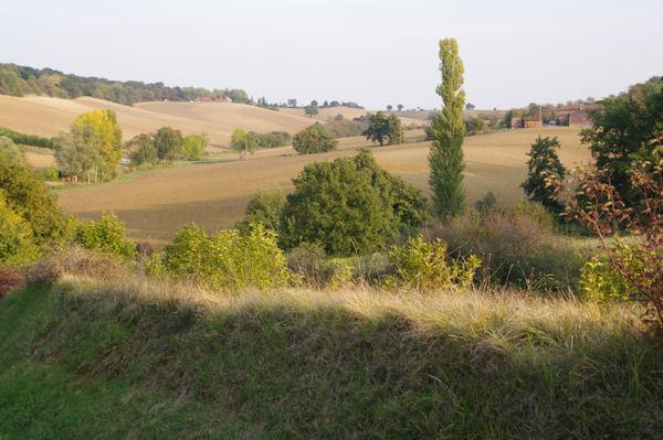 Le vallon des Chèvres depuis Lizoule