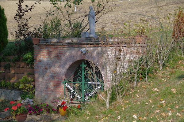 La fontaine miraculeuse de Notre Dame de Saussens