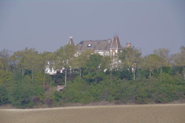 Le château de Saussens