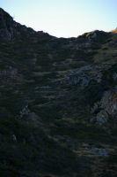 La descente vers le lac de Bareille