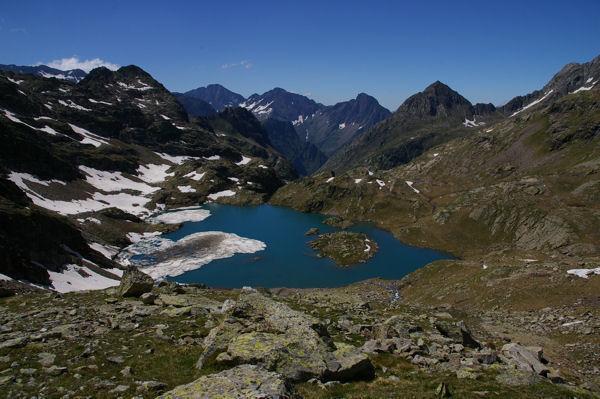 Le lac des Isclots
